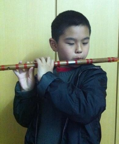 我学会了吹笛子